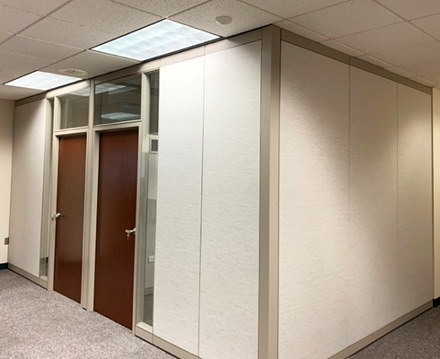 DEEP office with moveable walls