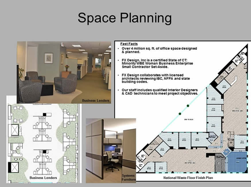 Space Planning floorplans
