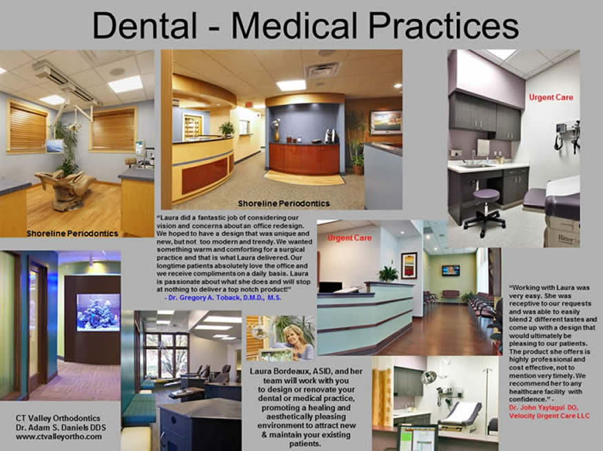 Collage of Dental and Medical Practices designed by FX Design