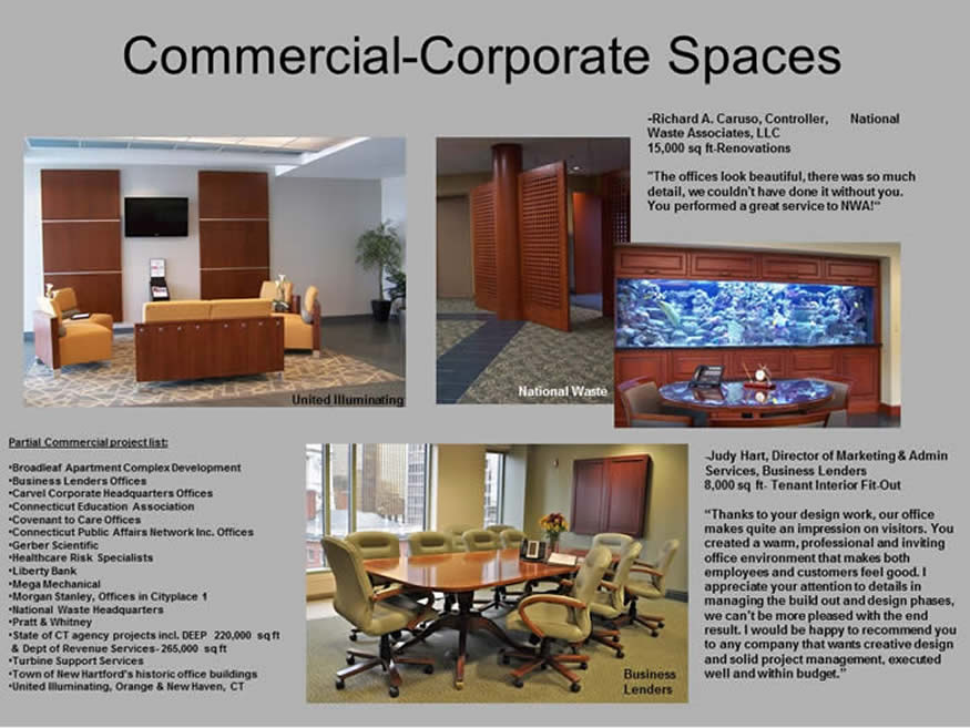 Commercial and Corporate space photos