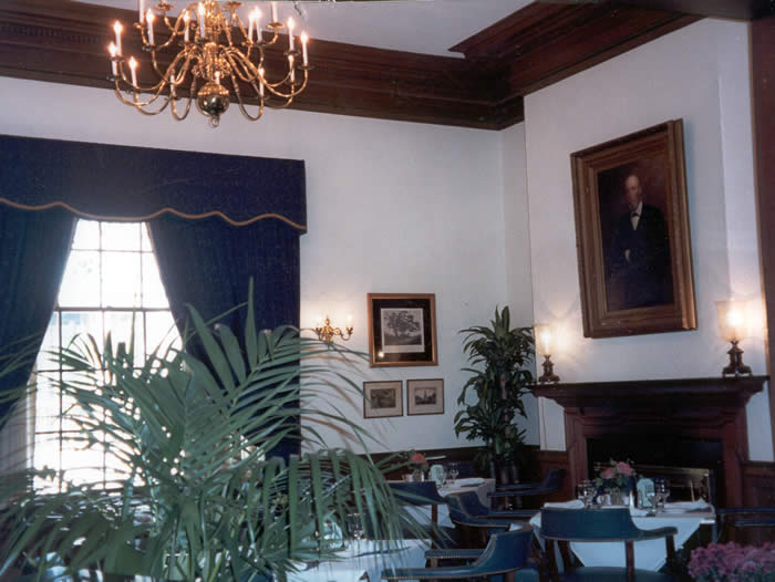 The Hartford Club interiors
