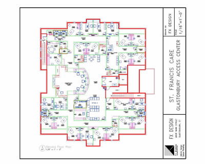 Fx design inc floor plans space planning for Floor plans health care facilities