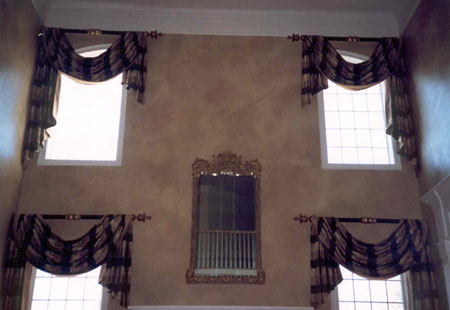 Photograph Bridewell window treatment