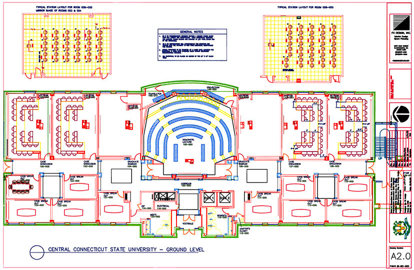 Central Connecticut State University Floor Plan
