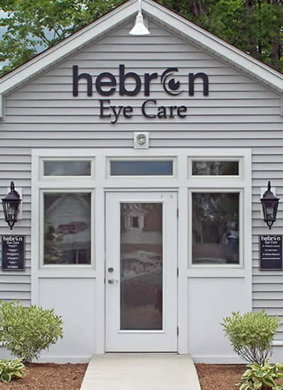 exterior entry to Hebron Eye Care