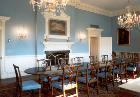 Historic Executive Corporate Dining Room Renovation