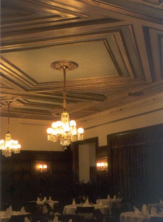 fx design inc historical projects historic hartford club dining