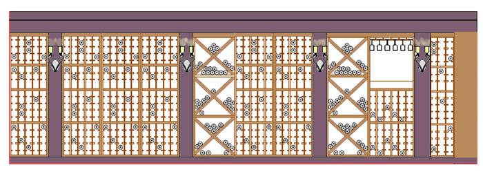 Fx design inc floor plans space planning for Wine cellar floor plans