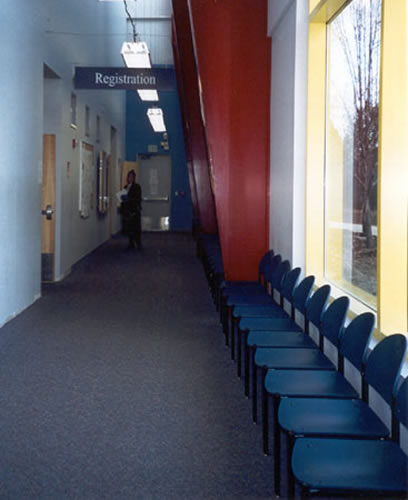 Southern Connecticut University registration office area - After