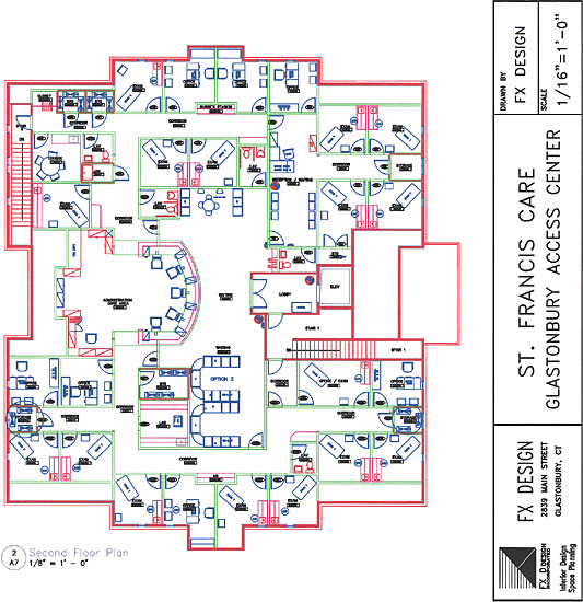 Saint Francis Glastonbury Care Center Floor Plan