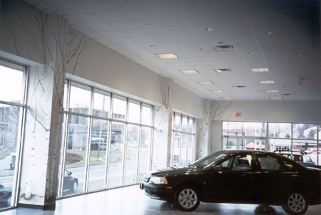 Central CT Volvo Dealership Showroom