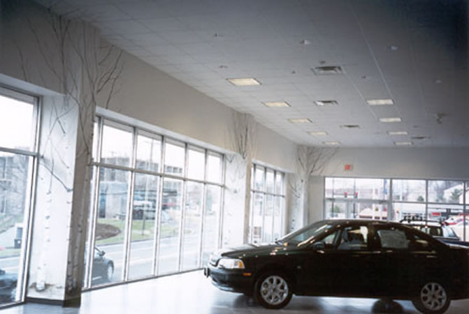 Central CT Volvo Dealership Showroom